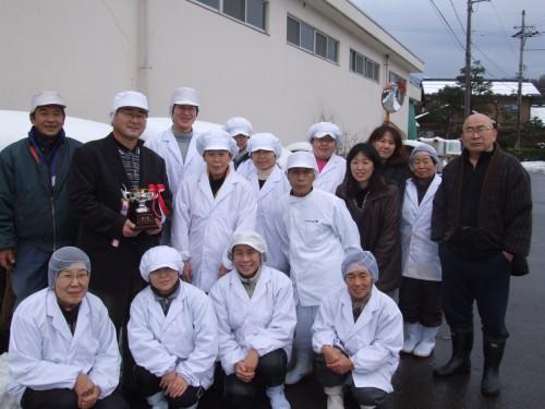 マルカワ味噌の全員集合写真