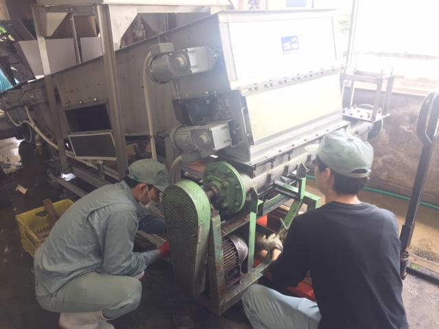 永田醸造機械さん来社